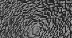 Abstract grey 3D geometric pattern. Mosaic metall background for business presentation.