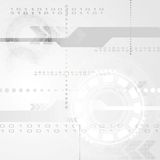 Abstract grey engineering tech background Royalty Free Stock Image