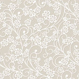 Abstract grey floral background. Seamless abstract grey floral background Royalty Free Stock Photo