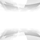 Abstract grey geometric tech background. Vector graphic design Stock Photo