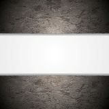 Abstract grey grunge wall background. Vector design Stock Photography