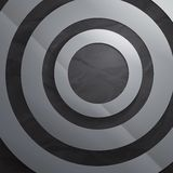 Abstract grey paper circles background Stock Image