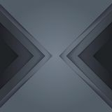 Abstract grey paper triangle shapes background Royalty Free Stock Photography
