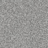 Abstract Grey Pixel Pattern Stock Foto