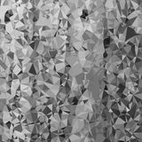 Abstract Grey Polygonal Background Stock Afbeelding