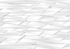 Abstract grey shapes vector background Royalty Free Stock Photography
