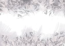 Abstract grey spots on white background royalty free illustration