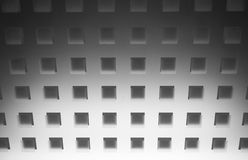 Abstract grey square background Stock Photos