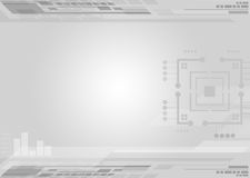 Abstract grey tech Royalty Free Stock Photos