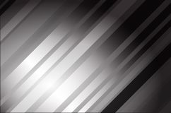 Abstract grey tech card with lighting effect. Vector Stock Photography