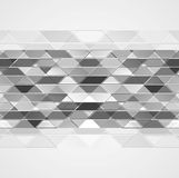 Abstract grey tech geometric background. Vector design stock illustration