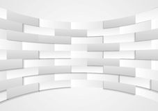 Abstract grey technical background Stock Photography