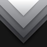 Abstract grey triangle shapes background Royalty Free Stock Photo