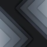 Abstract grey triangle shapes background Stock Photo
