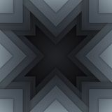 Abstract grey triangle shapes background Royalty Free Stock Photos