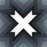 Abstract grey triangle shapes background Royalty Free Stock Images