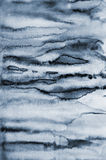 Abstract Grey Watercolor On Paper Texture As Background Stock Photo