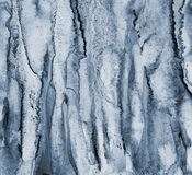 Abstract grey watercolor on paper texture as background Stock Image