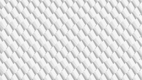Abstract grey white geometric background of rhombuses with 3D effect. Grey scale geometric texture for futuristic designs, wall papers, backdrops, Business vector illustration