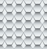 Abstract grey and white pattern for tiles Royalty Free Stock Photo