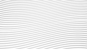 Abstract Grey And White Waves Lines-Patroon Stock Foto's
