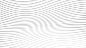 Abstract Grey And White Waves Lines-Patroon Stock Foto