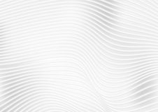 Abstract grey white wavy lines vector background. Abstract grey and white wavy lines background. Vector futuristic design vector illustration
