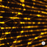 Abstract grid background. Vector illustration Royalty Free Stock Photos