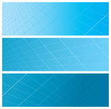 Abstract grid banners Royalty Free Stock Photo