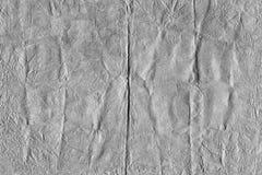 Abstract grijs achtergrond verfomfaaid document met de hand gemaakt, met een hulpoppervlakte Royalty-vrije Stock Afbeeldingen