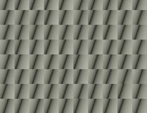 Abstract grijs architectuurdetail Stock Foto's