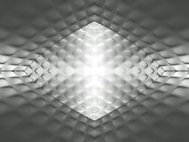 Abstract grijs patroon stock illustratie