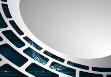 Abstract grijs technische als achtergrond 4 Vector Illustratie
