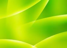 Abstract Groen Behang Stock Afbeelding