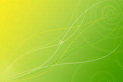 Abstract Groen Behang Als achtergrond Royalty-vrije Stock Foto's