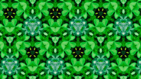 Abstract groen bloempatroon royalty-vrije stock foto's