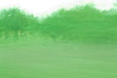 Abstract groen bos Royalty-vrije Stock Fotografie