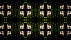 Abstract groen en wit exclusief behang Royalty-vrije Stock Foto