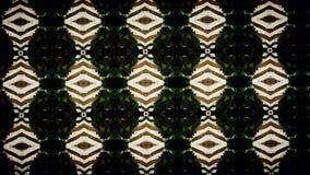 Abstract groen en wit exclusief behang Stock Afbeelding