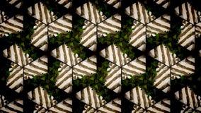 Abstract groen en wit exclusief behang Royalty-vrije Stock Fotografie