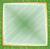Abstract groen frame Royalty-vrije Stock Foto's