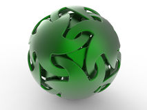 Abstract groen gebied Royalty-vrije Stock Fotografie