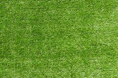 Abstract groen kunstmatig Gras als achtergrond Royalty-vrije Stock Foto