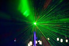 Abstract groen licht Stock Afbeelding