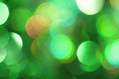Abstract groen licht Stock Afbeelding