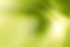 Abstract groen licht met vage achtergrond Royalty-vrije Stock Foto's