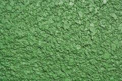 Abstract groen ruw achtergrondtextuurcement Stock Afbeeldingen