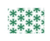 Abstract groen sterrenpatroon Stock Fotografie