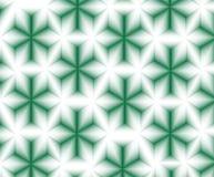 Abstract groen sterrenpatroon Royalty-vrije Stock Afbeeldingen