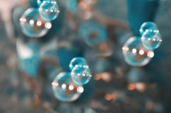 Abstract group of bubbles or cells Royalty Free Stock Image